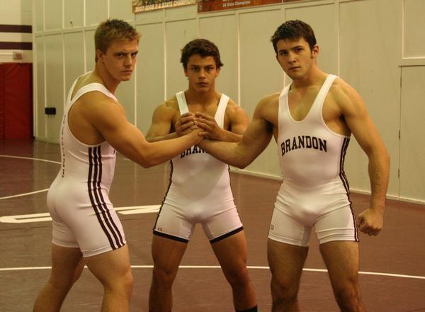 Tight asses in spandex pants